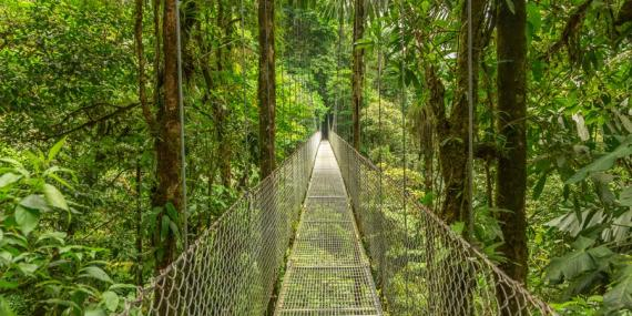 Incontournable au Costa Rica - Parc National d'Arenal
