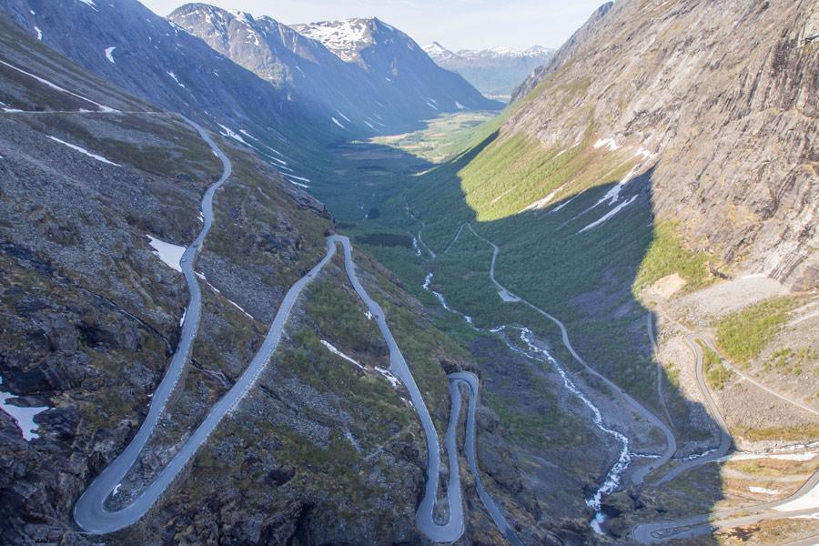 Norvège - Trollstigen, la Route des Trolls