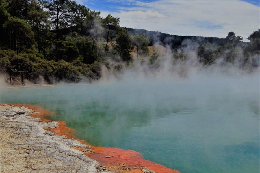 Nouvelle-Zélande - Rotorua, une ville pleine de curiosité