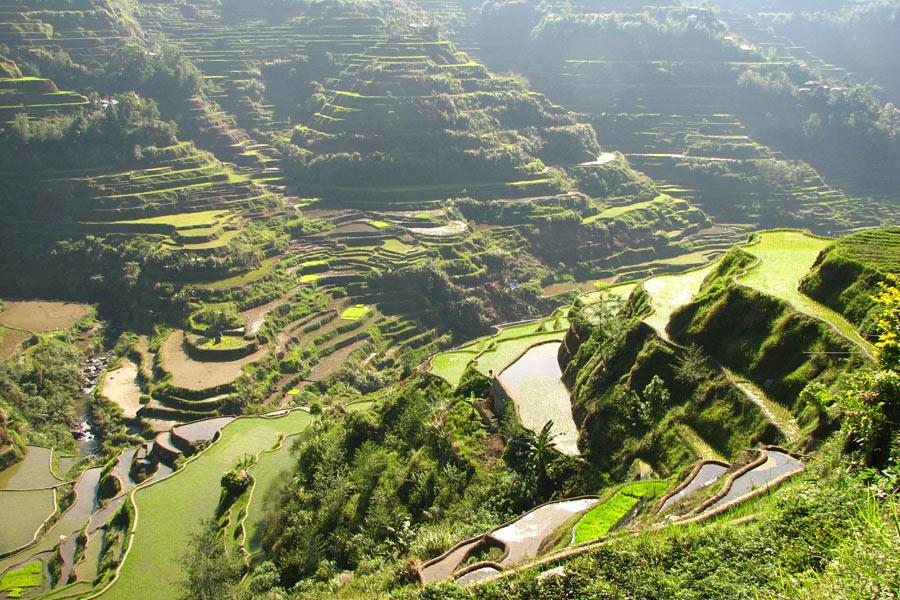 Philippines - Batad et Banaue, Villages Perchés
