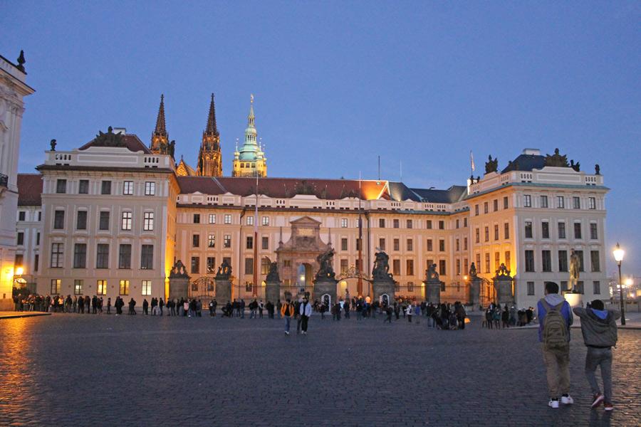 République Tchèque - Le Pražský Hrad de Prague