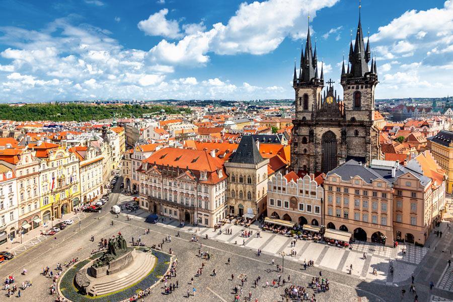 République Tchèque - Prague, la Bohème et la Moravie