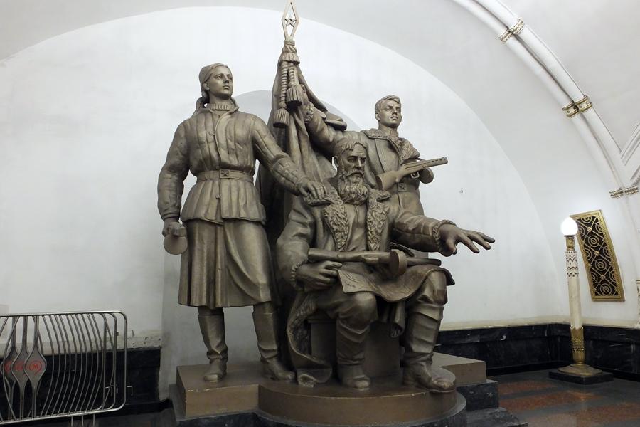 Russie - Le Métro de Moscou et ses plus belles stations