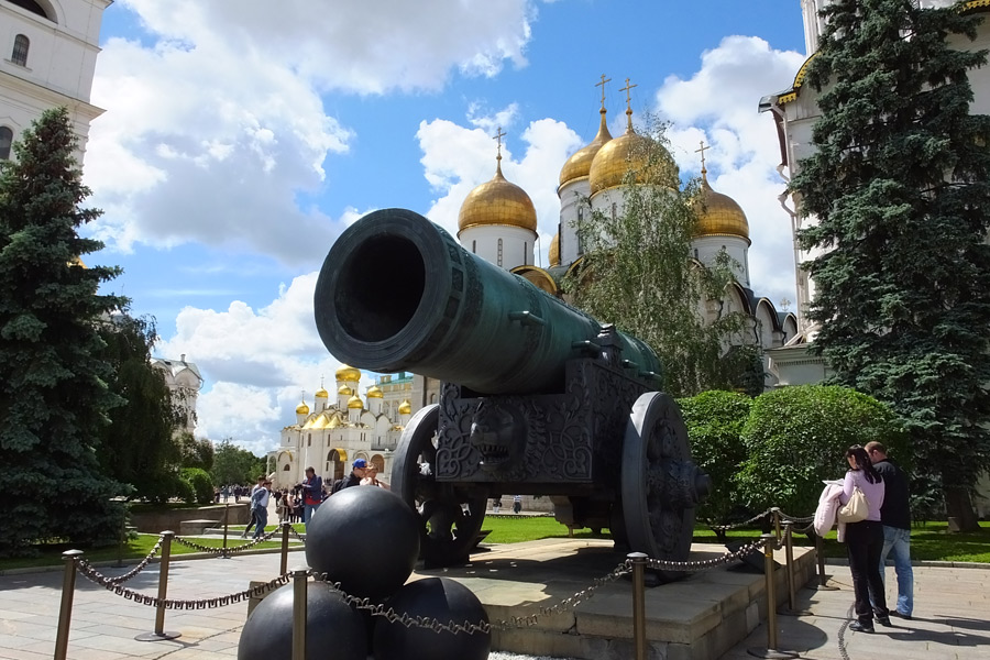 Russie - Moscou, Focus sur le Kremlin