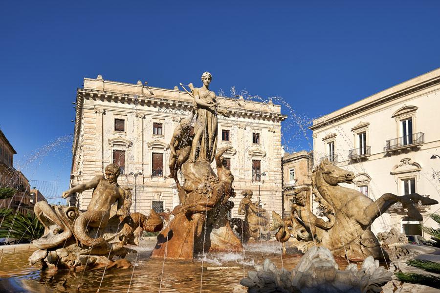 Sicile -Syracuse, Baroque et Côtière