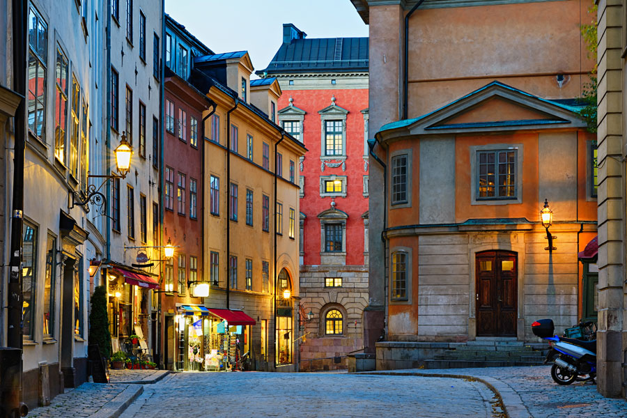 Suède - Balade en Liberté à Stockholm
