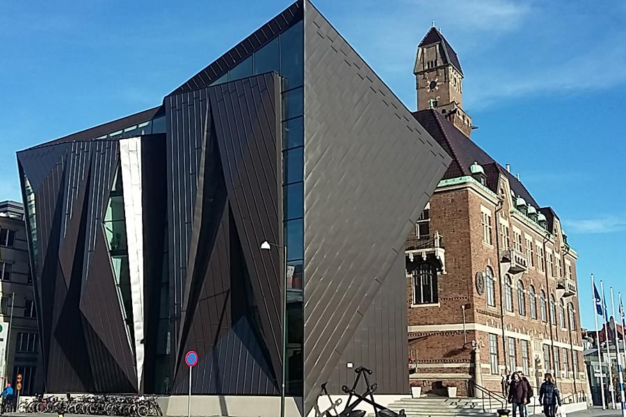 Suède - Malmö: ville verte, historique et futuriste