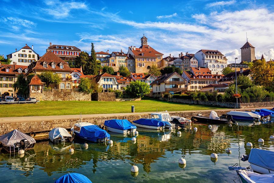 Suisse - Entre villes, lacs et montagnes dans le Canton de Fribourg