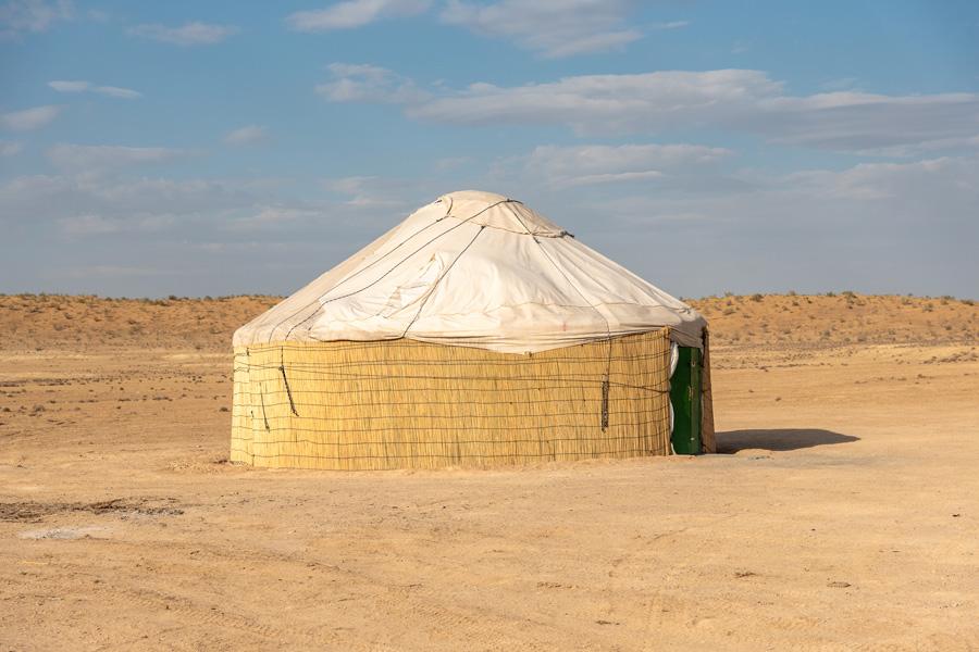 Turkménistan - Le Cratère de Darvaza, les Portes de l'Enfer