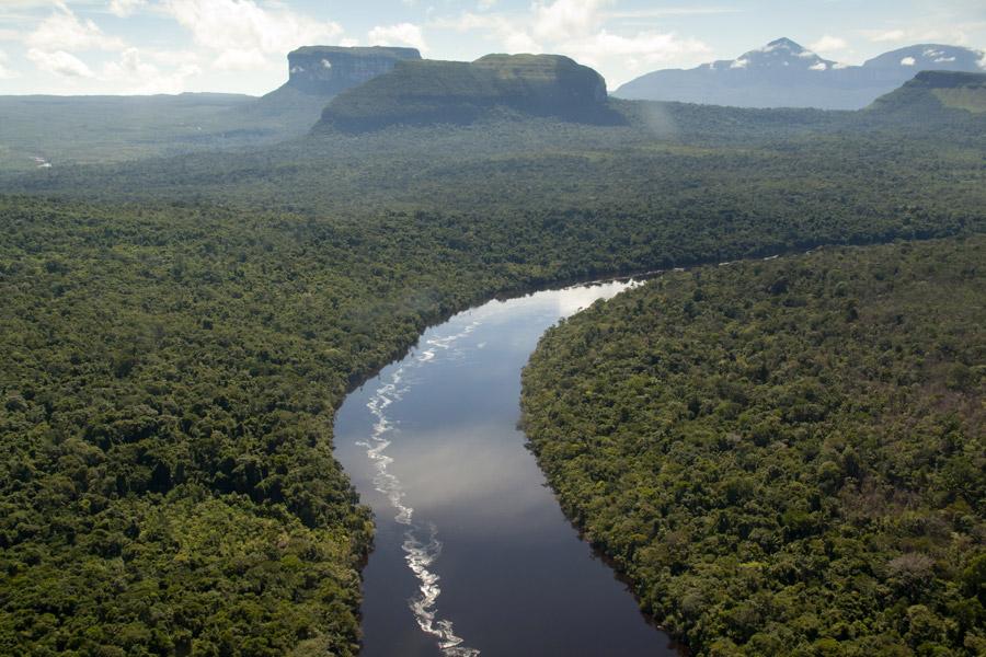 Venezuela - Delta de l'Orénoque, Retour aux Origines