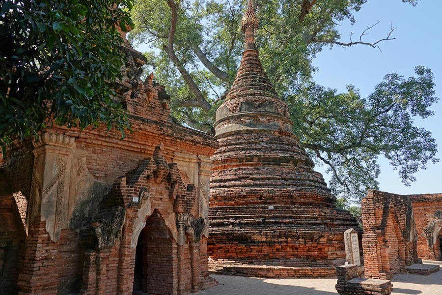Birmanie - À la découverte d'Inwa, ancienne capitale royale