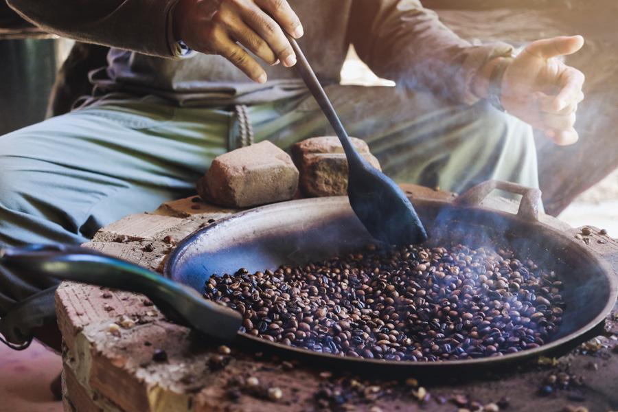 Ethiopie - La cérémonie du café