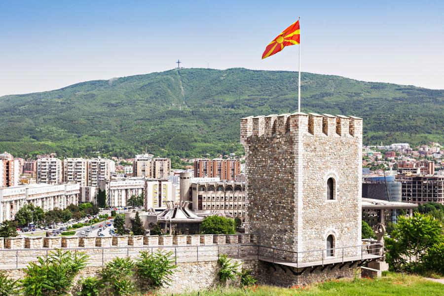 Macédoine du Nord -Aux portes de l'Orient à Skopje
