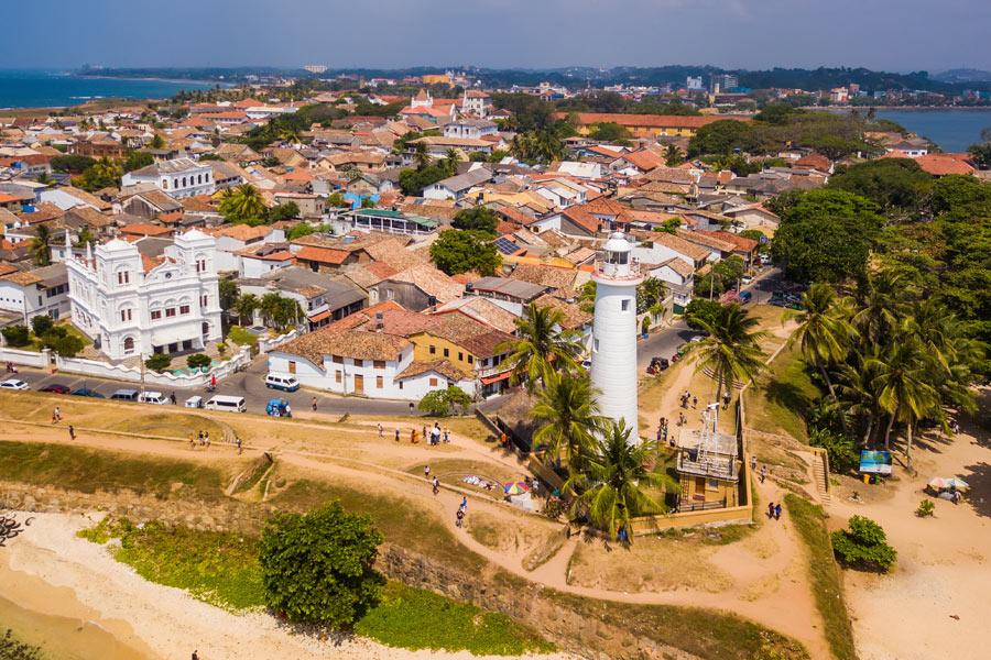 Sri Lanka - Galle, au carrefour de l'Asie et de l'Europe