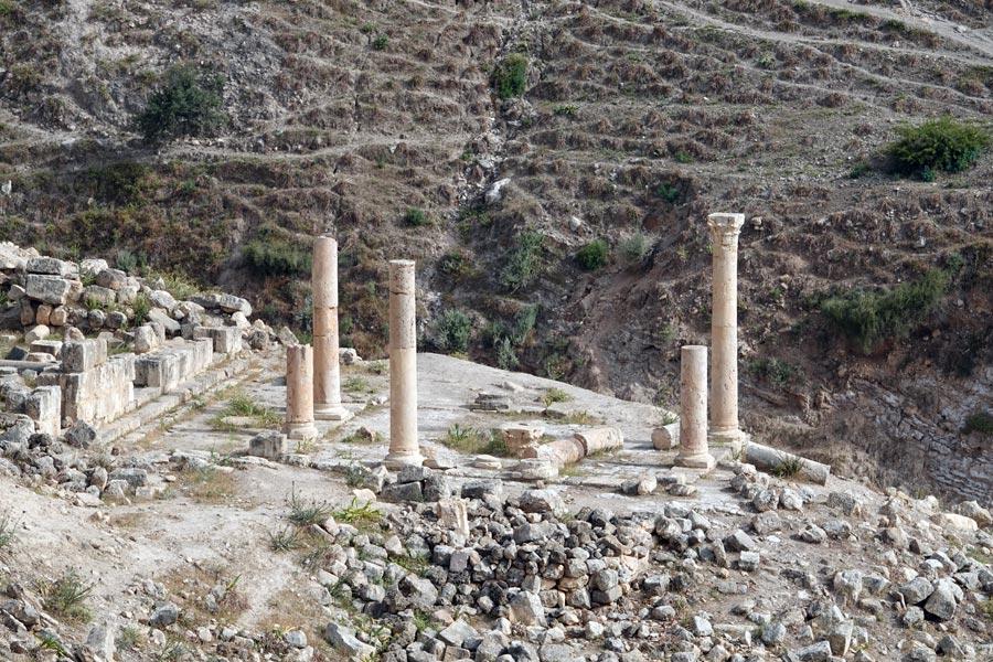 Jordanie - Sur les traces du passage des Romains
