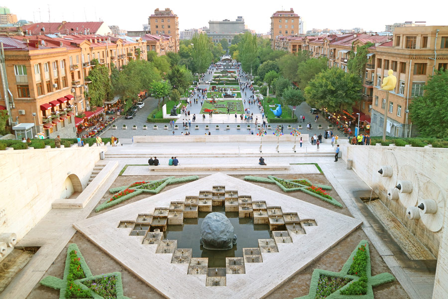 Arménie - Erevan, la Ville Rose arménienne