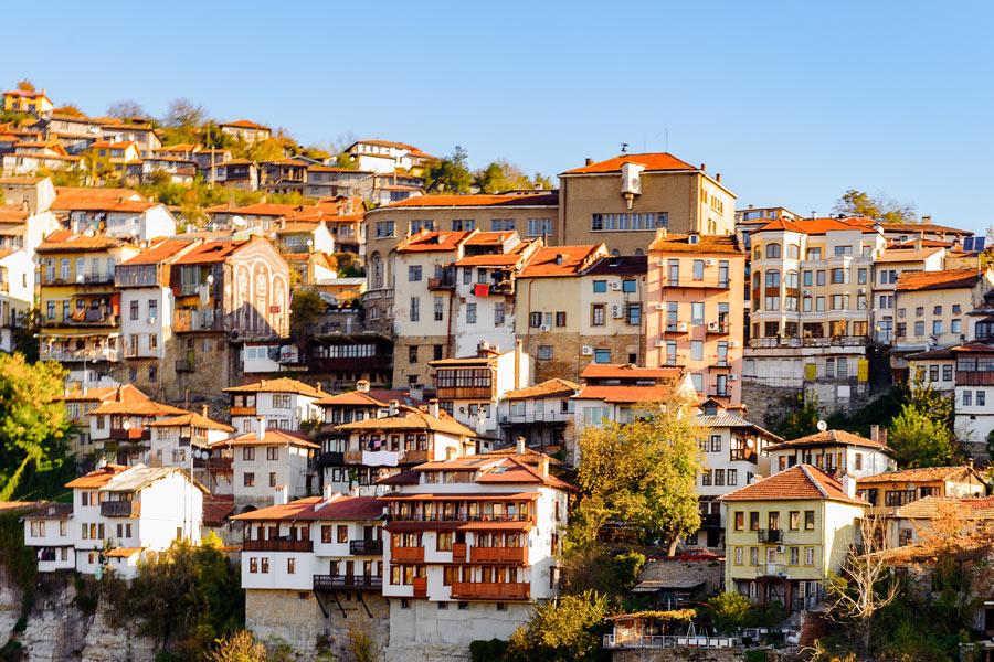 Bulgarie - Veliko Tarnovo, Capitale du Second Empire Bulgare