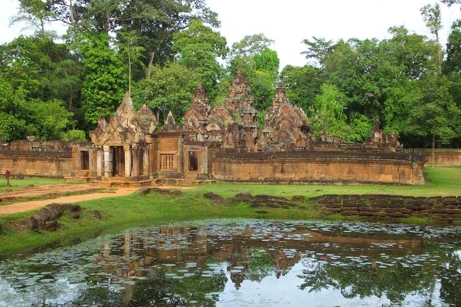 Cambodge - Eveil à Banteay Srei