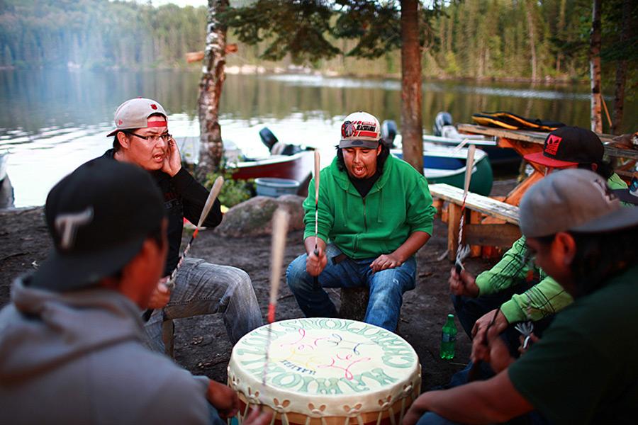 Canada - Les Atikamekw de Manawan