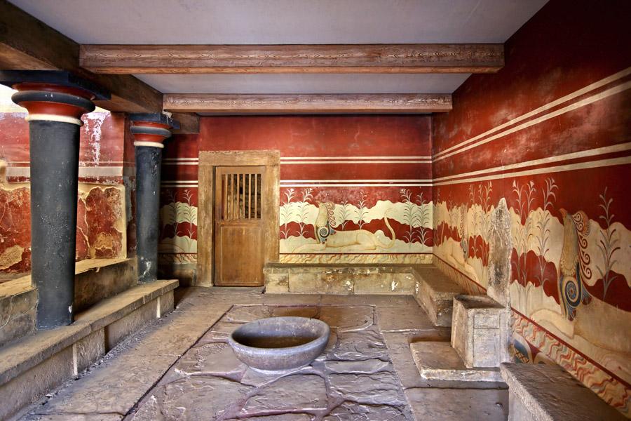 Crète - Quelques sites archéologiques de renom ...