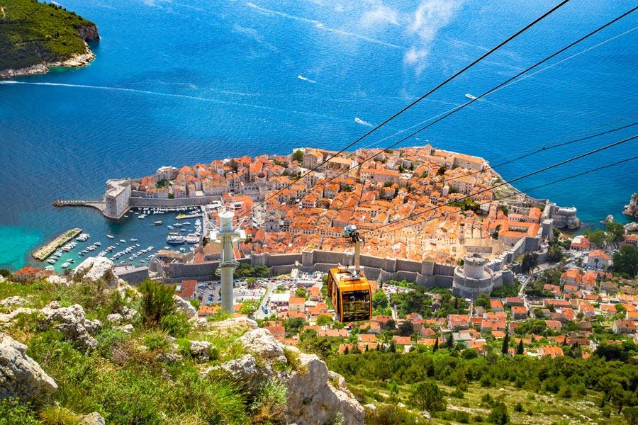Croatie - De Ville en Ville sur la Côte Dalmate