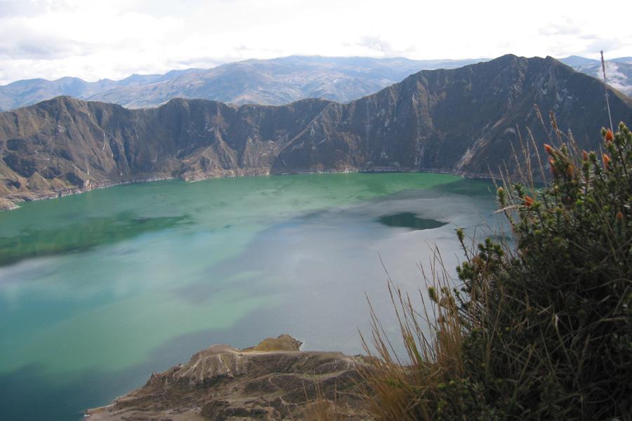 Equateur - Lagune et Cratère Volcanique de Quilotoa