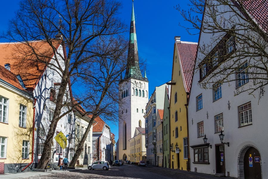 Estonie - Tallinn, Joyau de la Baltique