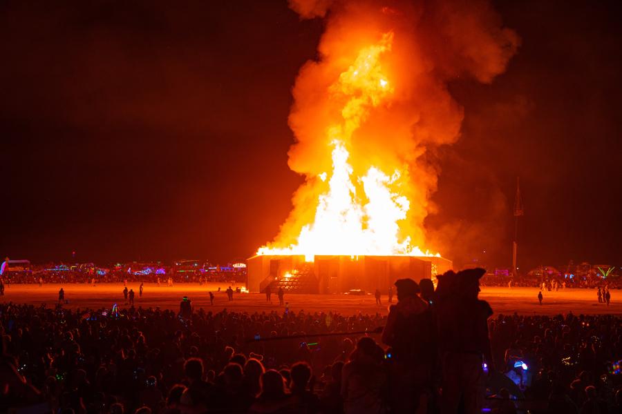 Etats-Unis - Burning Man, un Festival Déjanté dans le Nevada
