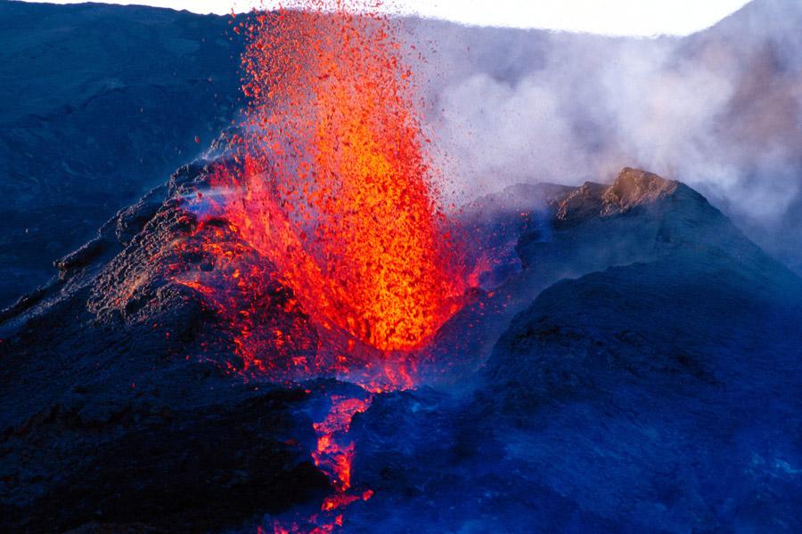 Ile de La Réunion - Les éruptions du Piton de la Fournaise