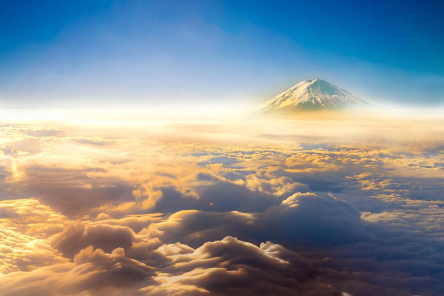 Japon - Le Mont Fuji, Emblème du Japon