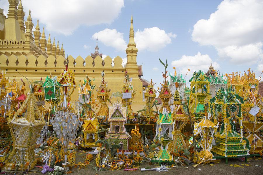 Voyage Découverte au Laos - La Fête de That Luang