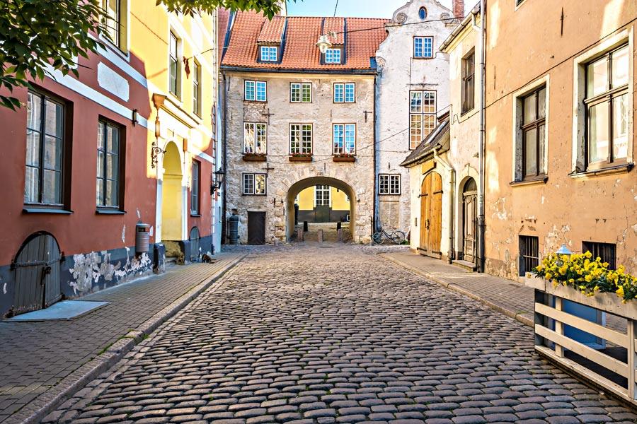 Lettonie - Riga, la Perle de la Baltique