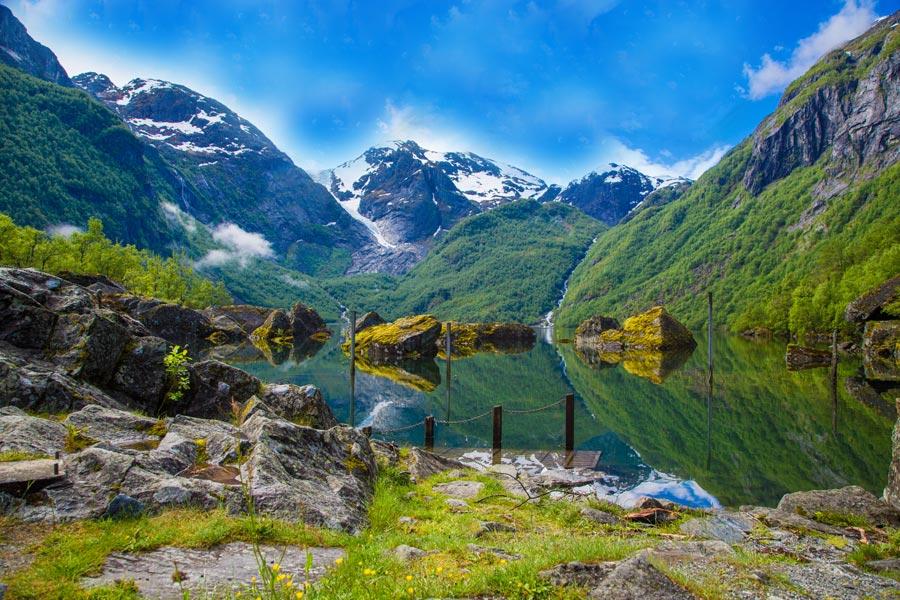Norvège - Jostedalsbreen et les derniers glaciers d'Europe