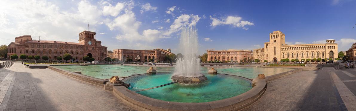 Voyage Découverte en Arménie - Erevan, la Ville Rose arménienne