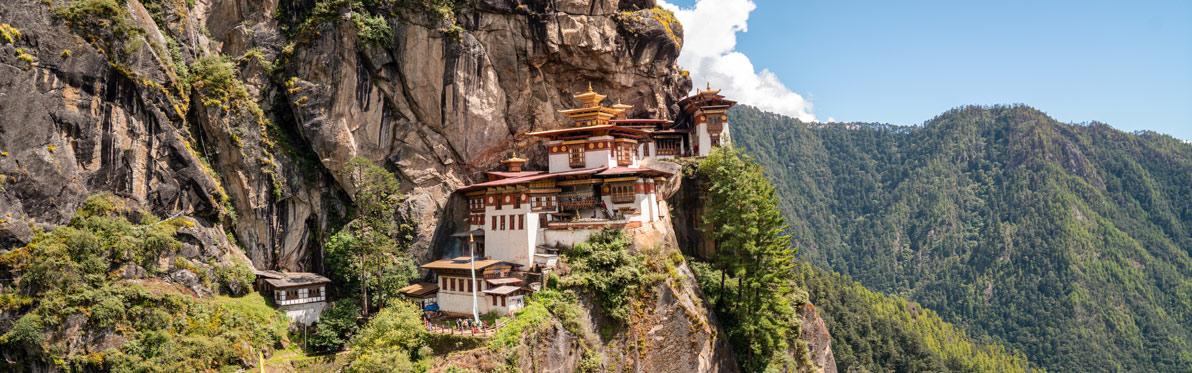 Voyage Découverte au Bhoutan - Balade mystique dans la vallée de Paro et jusqu'au Nid du Tigre