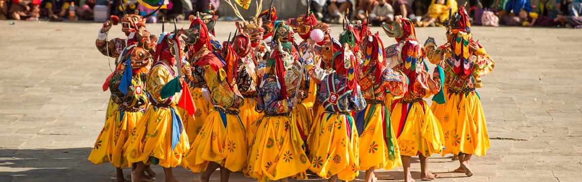 Voyage Découverte au Bhoutan - Les Tsechu du Bhoutan
