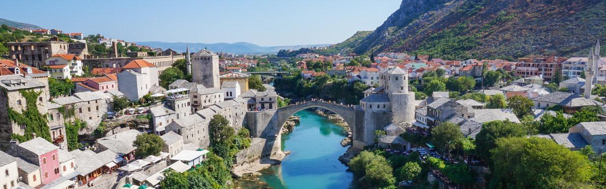 Voyage Découverte en Bosnie -Stari Most, l'Histoire Tumultueuse du Pont de Mostar