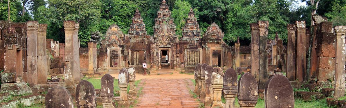 Voyage Découverte au Cambodge - Eveil à Banteay Srei