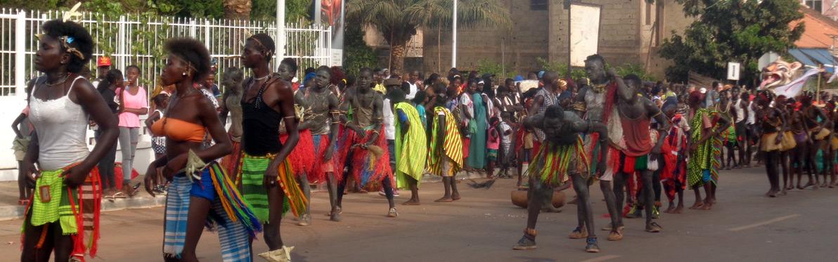 Voyage Découverte en Guinée-Bissau - Célébrez le Carnaval de Guinée-Bissau