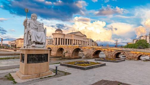 Aux portes de l'Orient à Skopje