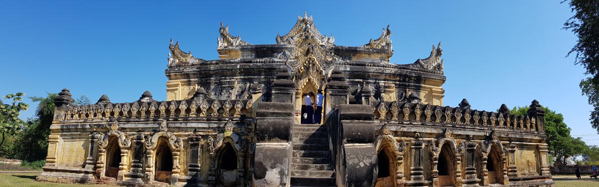 Voyage Découverte en Birmanie - À la découverte d'Inwa, ancienne capitale royale