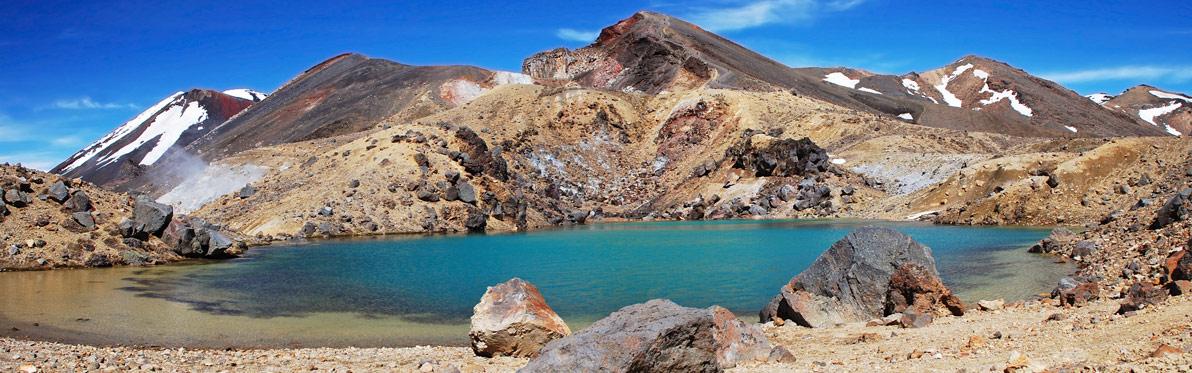 Voyage découverte en Nouvelle-Zélande - Excursion au Tongariro National Park