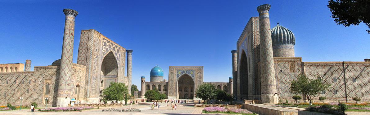 Voyage Découverte en Ouzbékistan - Samarkand, la Cité des Coupoles Bleues