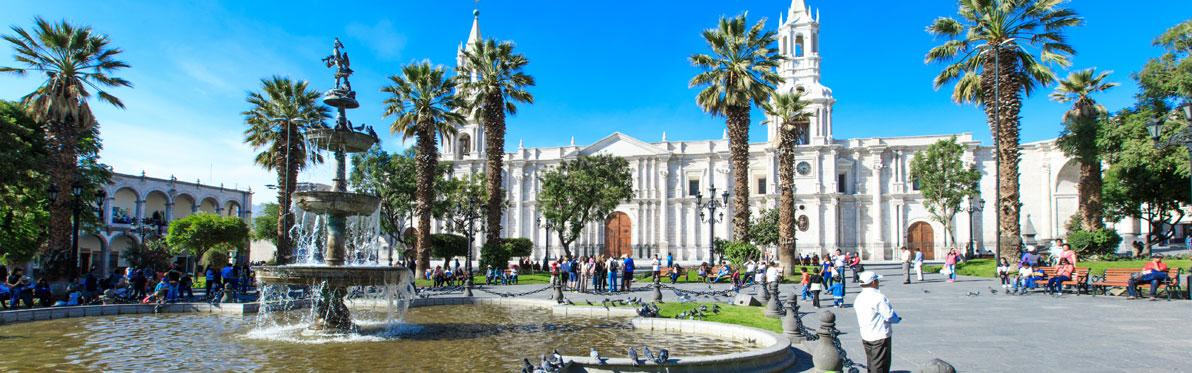 Voyage Découverte au Pérou - Arequipa, balade au cœur de la Ville Blanche