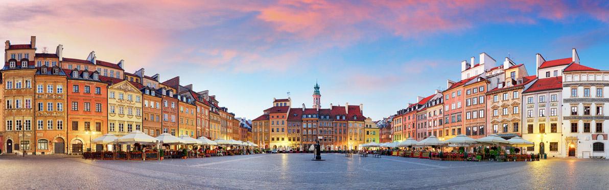 Voyage Découverte en Pologne - Varsovie, la capitale qui renaît de ses cendres