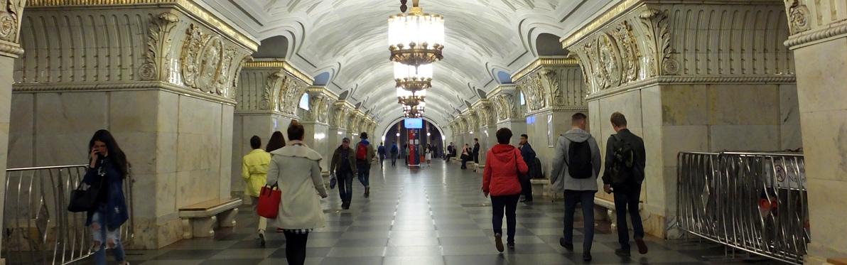 Voyage Découverte en Russie - Le Métro de Moscou et ses plus belles stations