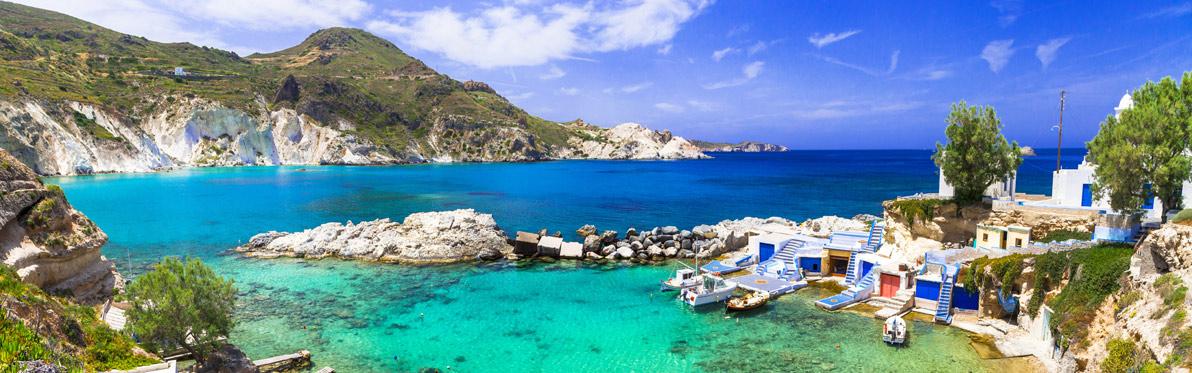 Voyage Découverte dans les Cyclades - Milos, le diamant des Cyclades