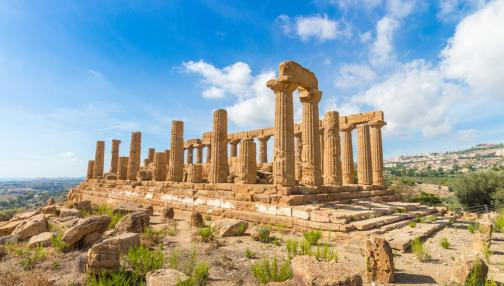 Mosaïque d'histoire au cœur des sites archéologiques de Sicile