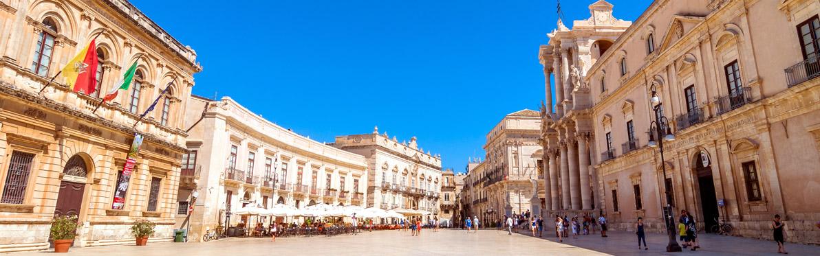 Voyage Découverte en Sicile -Syracuse, Baroque et Côtière