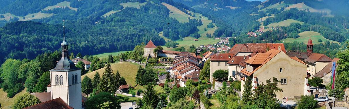 Voyage Découverte en Suisse - Entre villes, lacs et montagnes dans le Canton de Fribourg